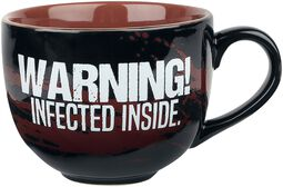 Infected - Cappuccino Tasse