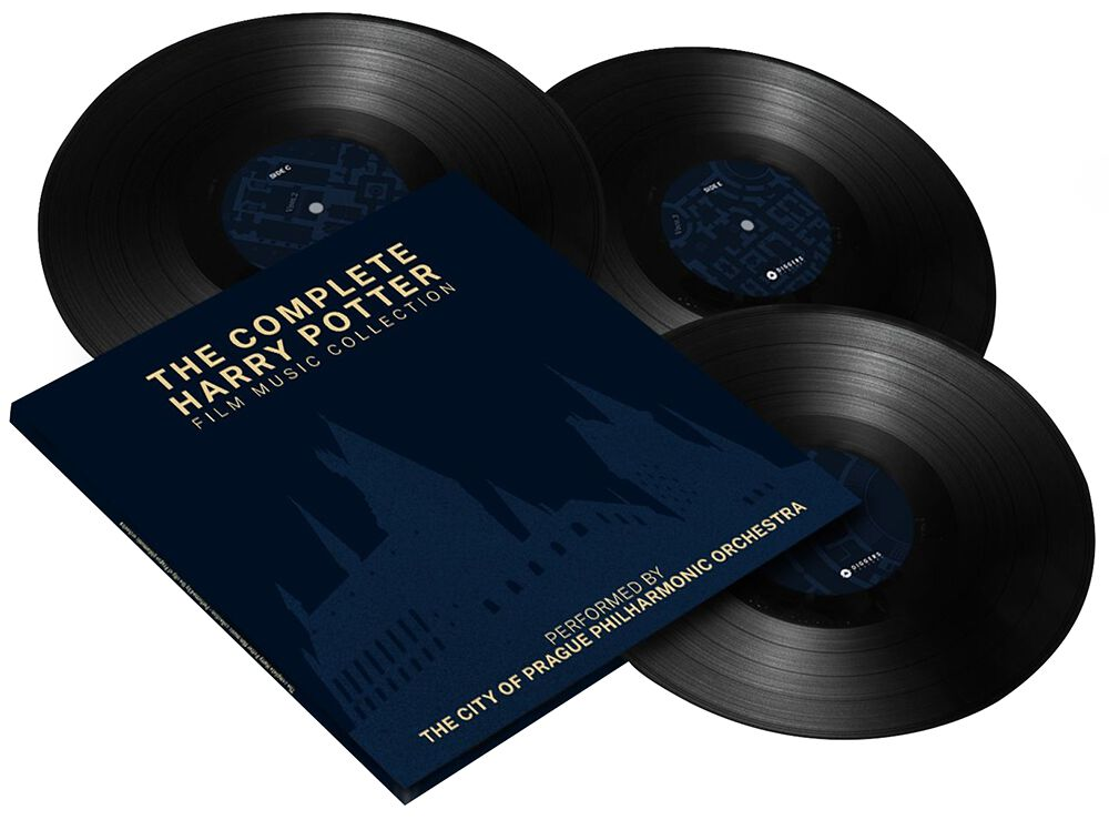Image of Harry Potter The complete Harry Potter Film Music Collection 3-LP Standard