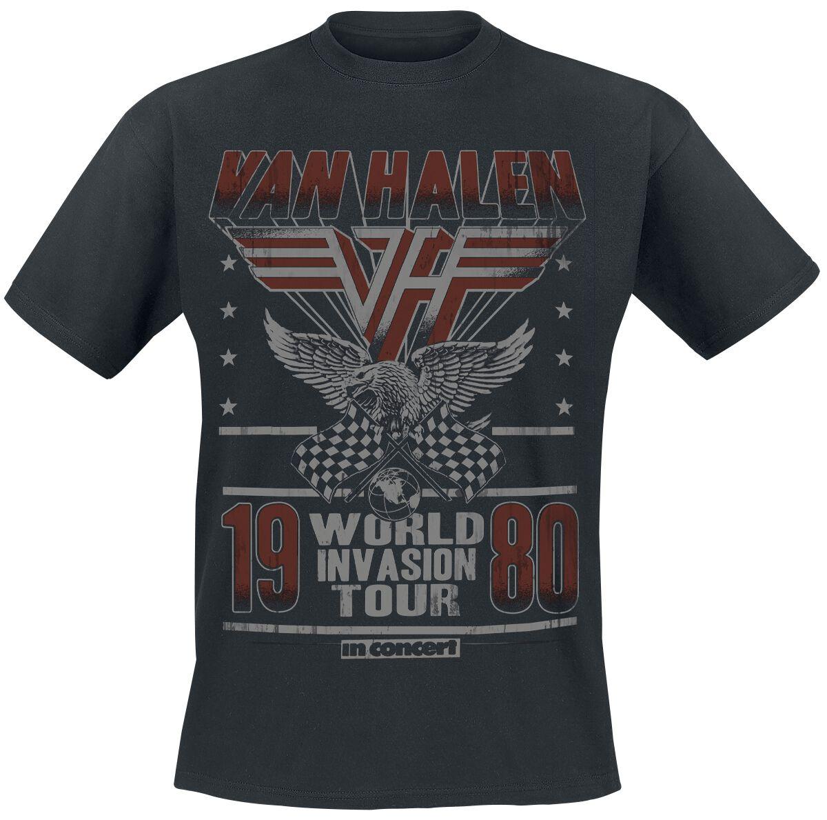 Van Halen World Invasion Tour 1980 powered by EMP