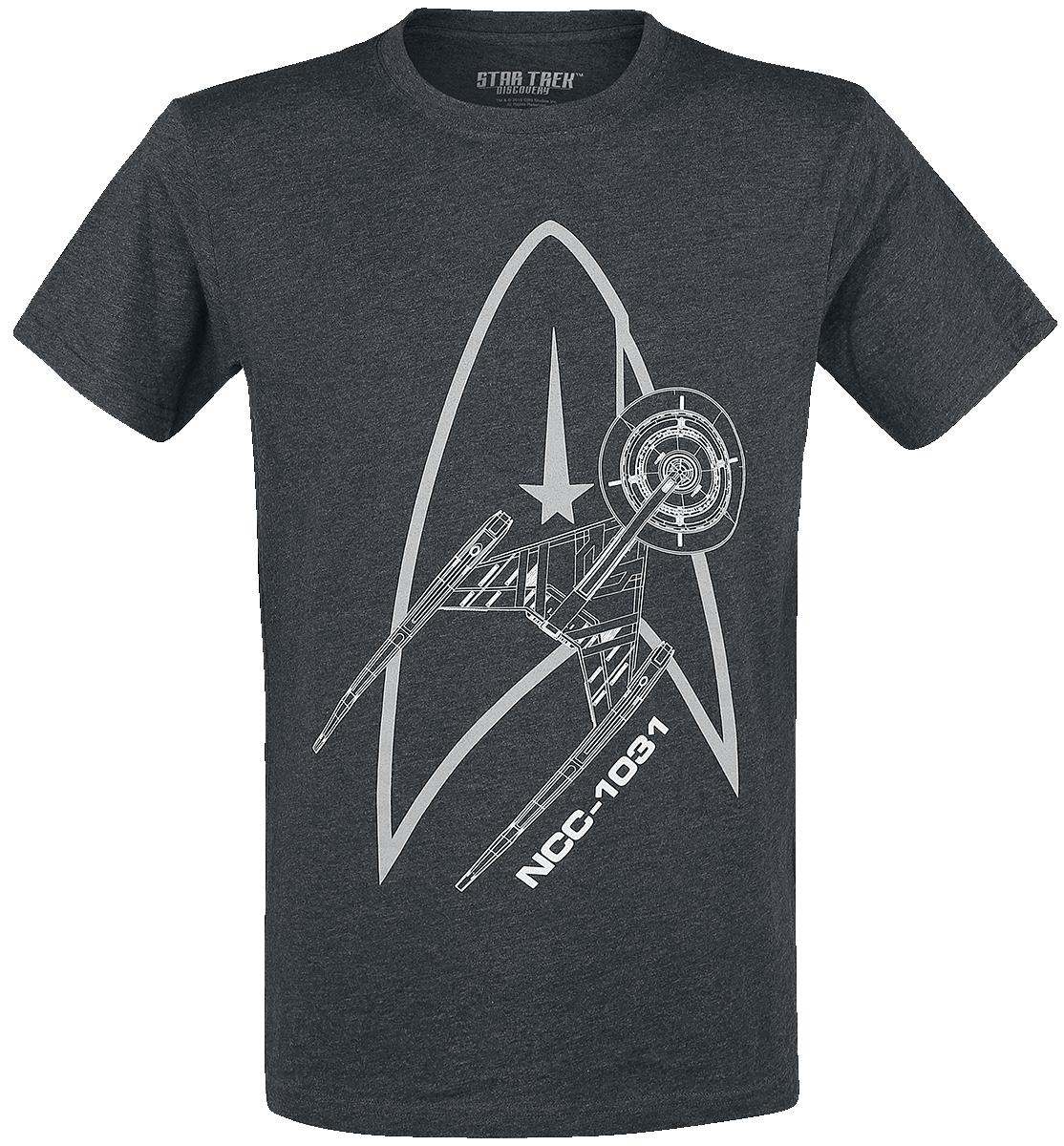 Star Trek - Discovery - NCC 1031 - T-Shirt - charcoal image