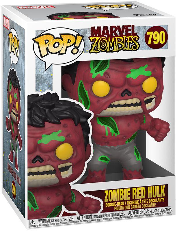 Zombies - Zombie Red Hulk Vinyl Figur 790