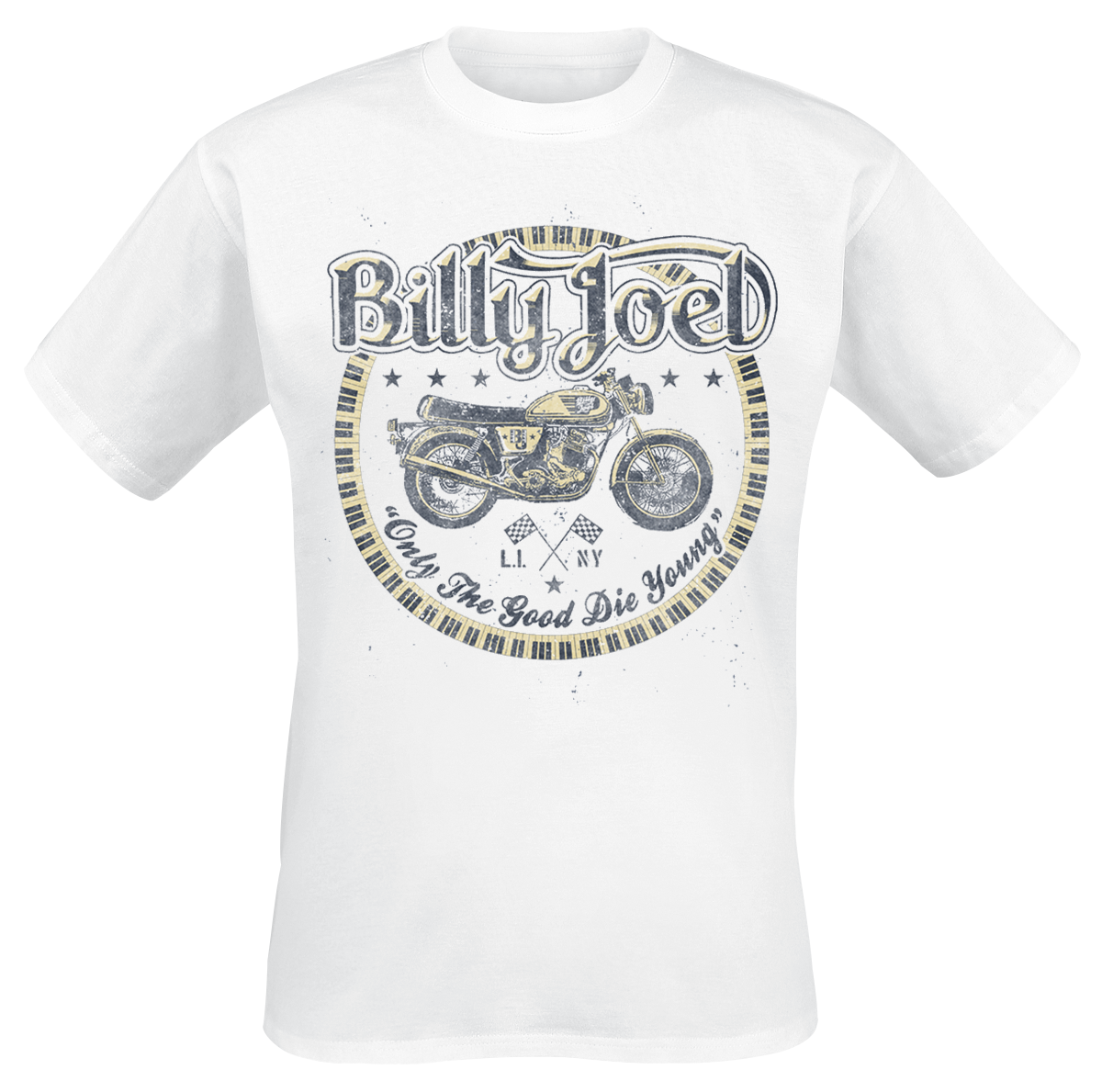 Billy Joel - Good Die Young - T-Shirt - white image