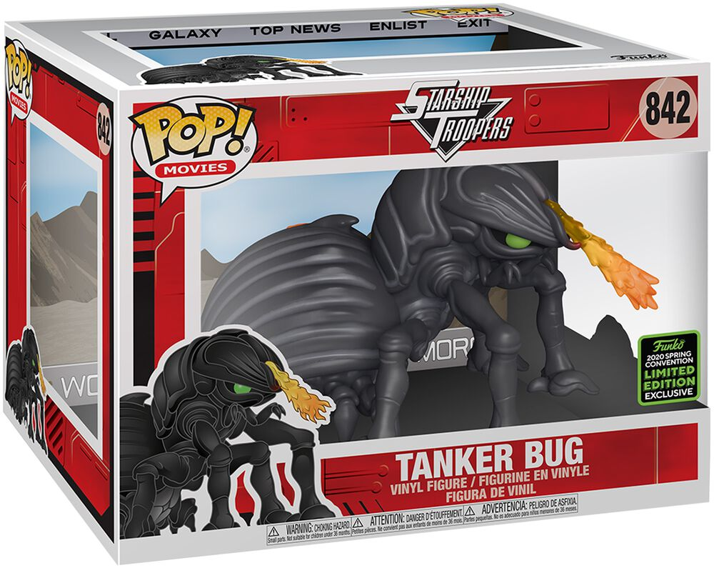 Starship Troopers Tanker Bug (Super Pop!) (ECCC 2020) Vinyl Figur 842