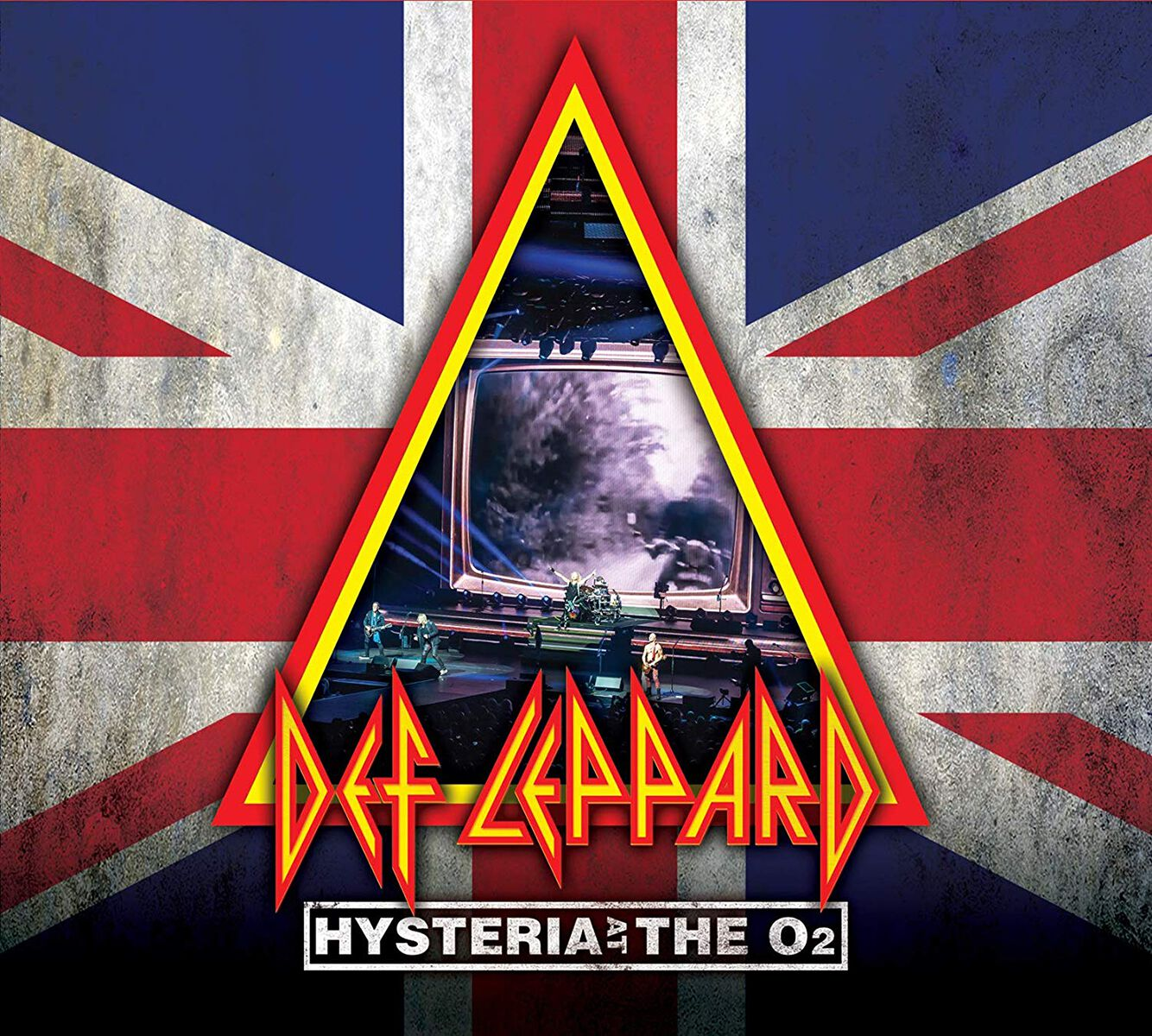 Def Leppard  Hysteria at the O2 - Live  Blu-ray & 2-CD  Standard