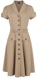 Ida Safari Flare Dress