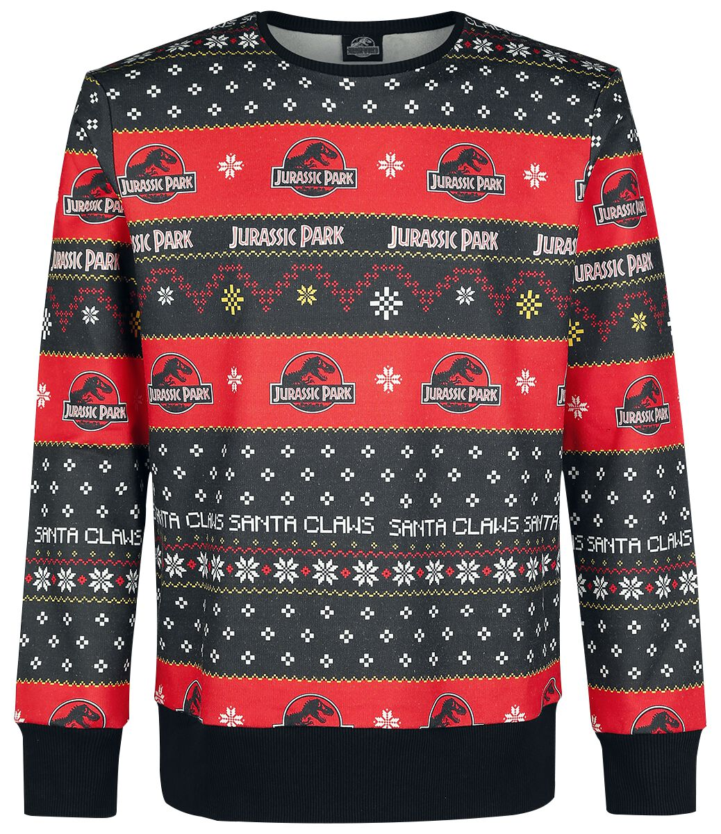 Christmas Sweater   Jurassic Park Weihnachtspullover   EMP