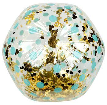 Riesen Glitzer Strandball