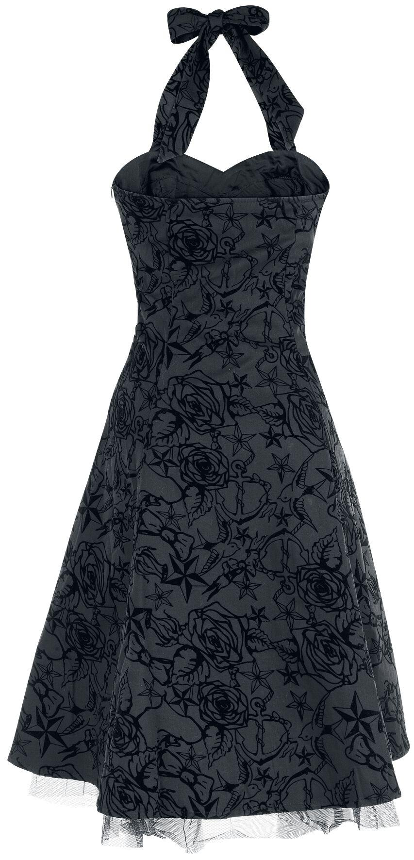 Longue Tattoo Dress H R London Mittellanges Kleid Emp