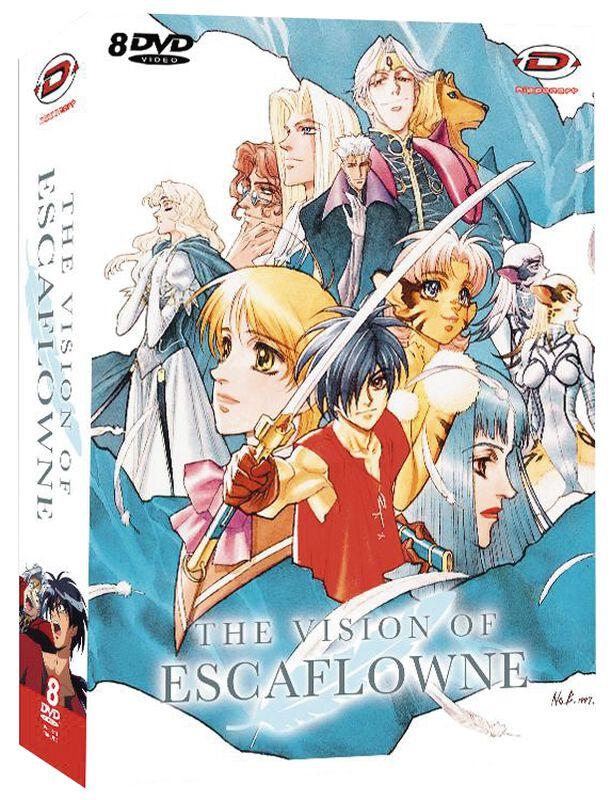 The Vision Of Escaflowne Vol. 1-6 + 2 Bonus DVDs
