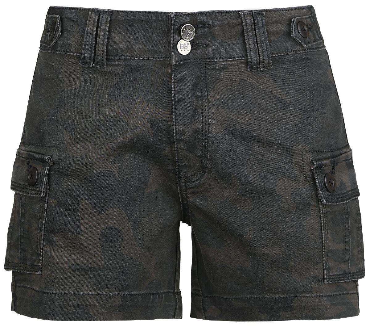Black Premium by EMP Work 'N' Play Shorts camouflage
