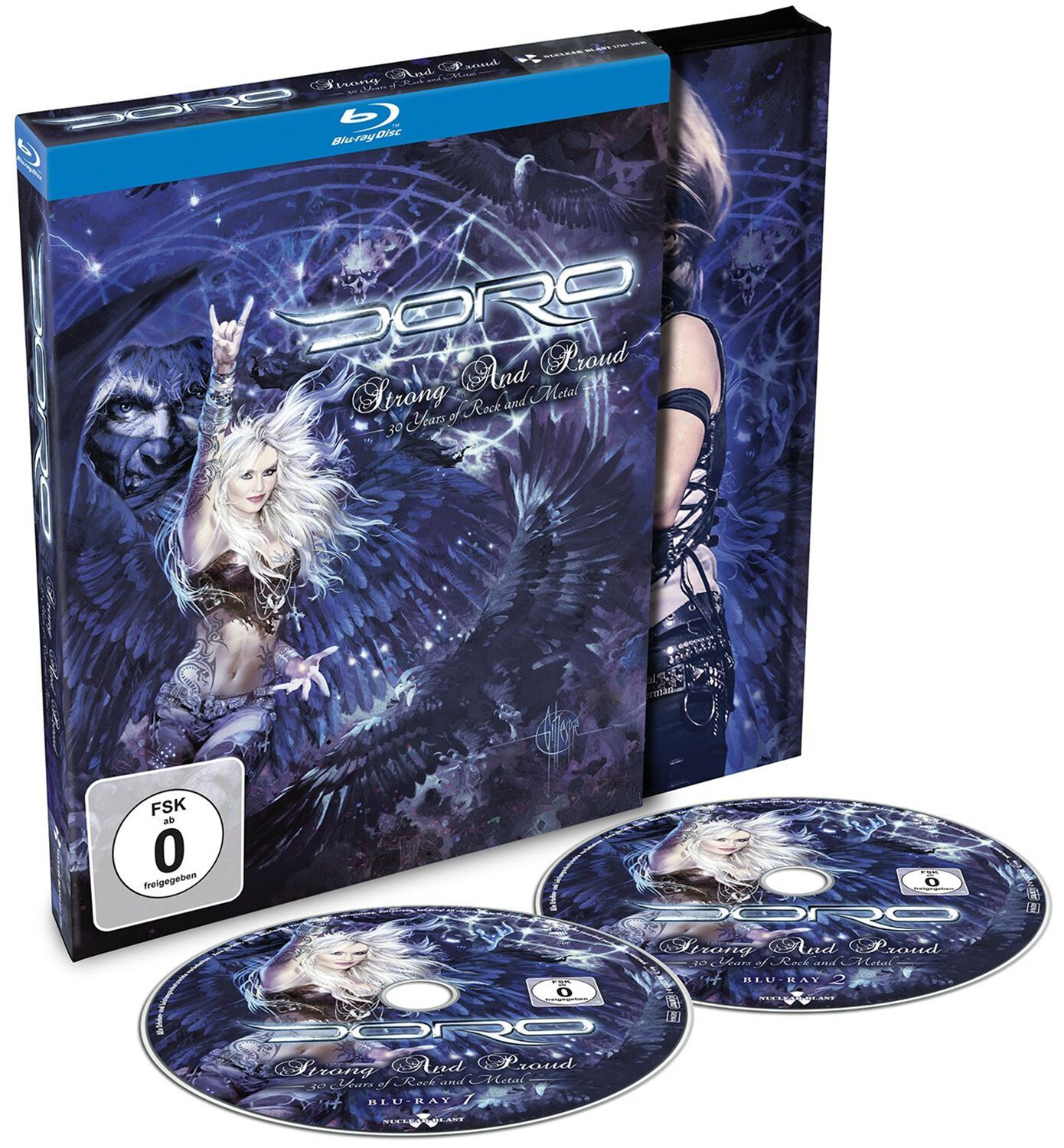 Image of Doro Strong and proud 2-Blu-ray Standard