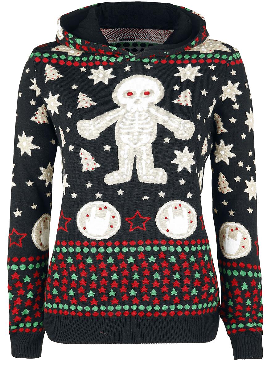 Full Volume by EMP - The Sound Of Winter - Girls sweatshirt - black image