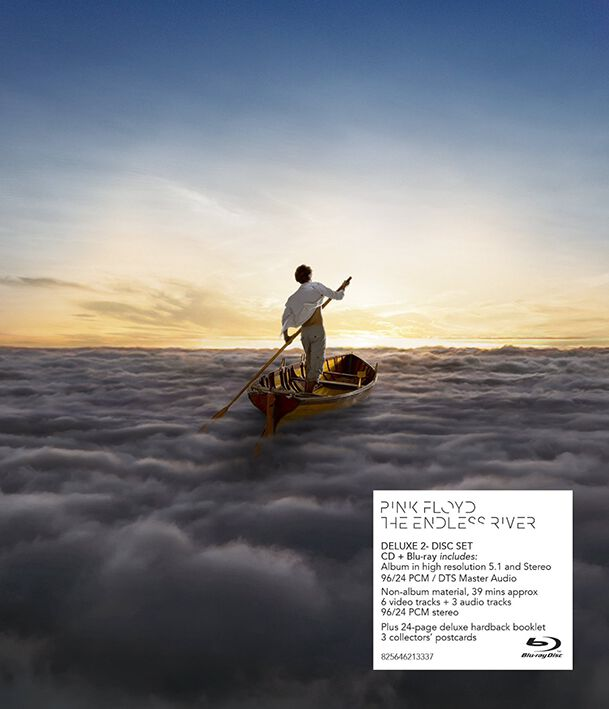 Image of Pink Floyd The Endless River CD & Blu-ray Standard