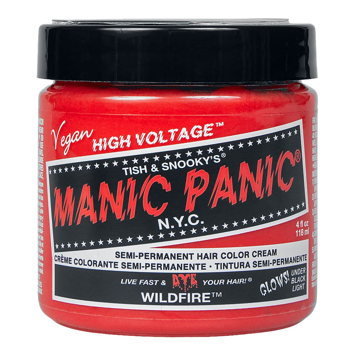 Manic Panic Wild Fire - Classic  Haar-Farben  rot