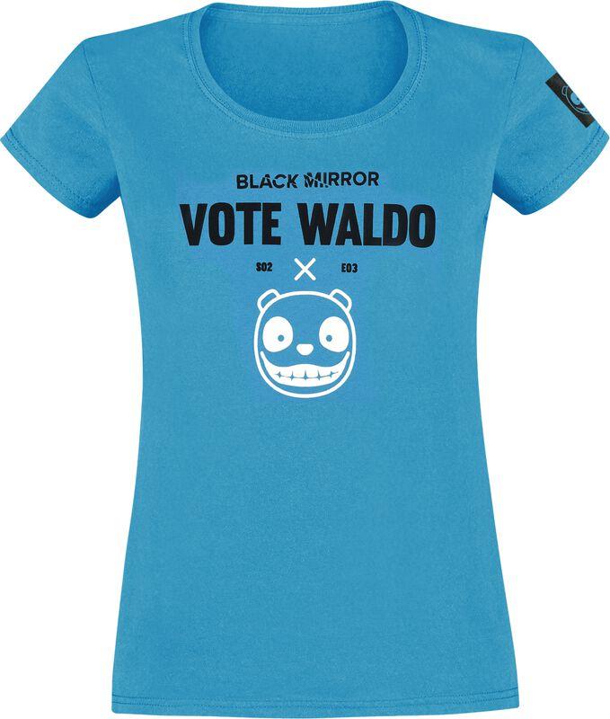 Black Mirror Vote Waldo