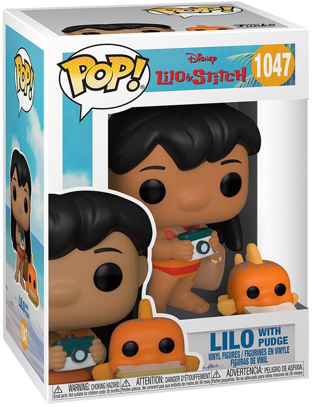 Lilo with Pudge Vinyl Figur 1047