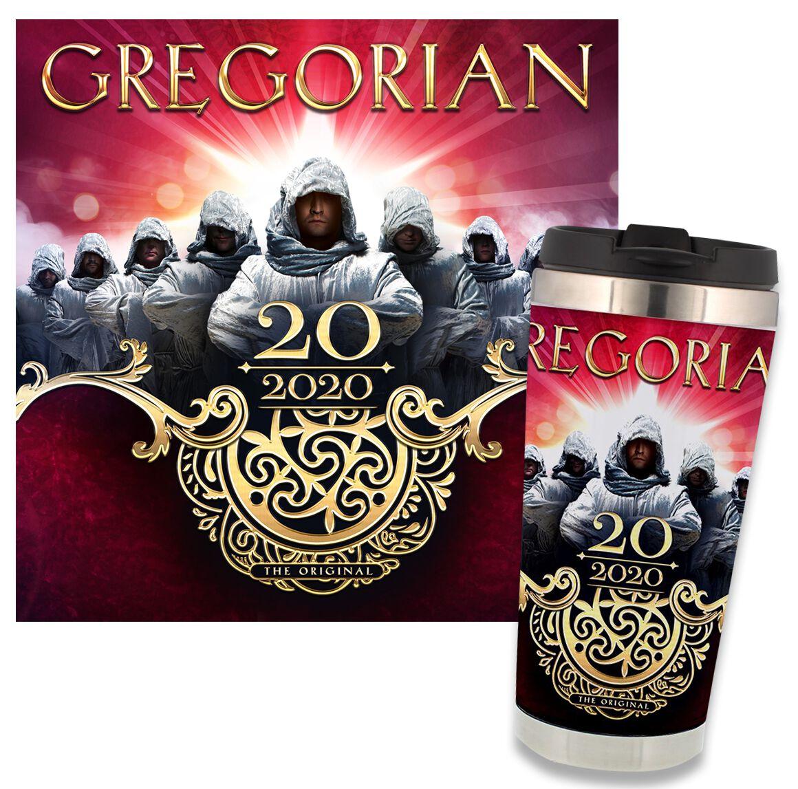 Image of Gregorian 20 - 2020 - The Original 2-CD & Kaffeebecher Standard