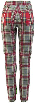 Off The Chain Straight Trousers