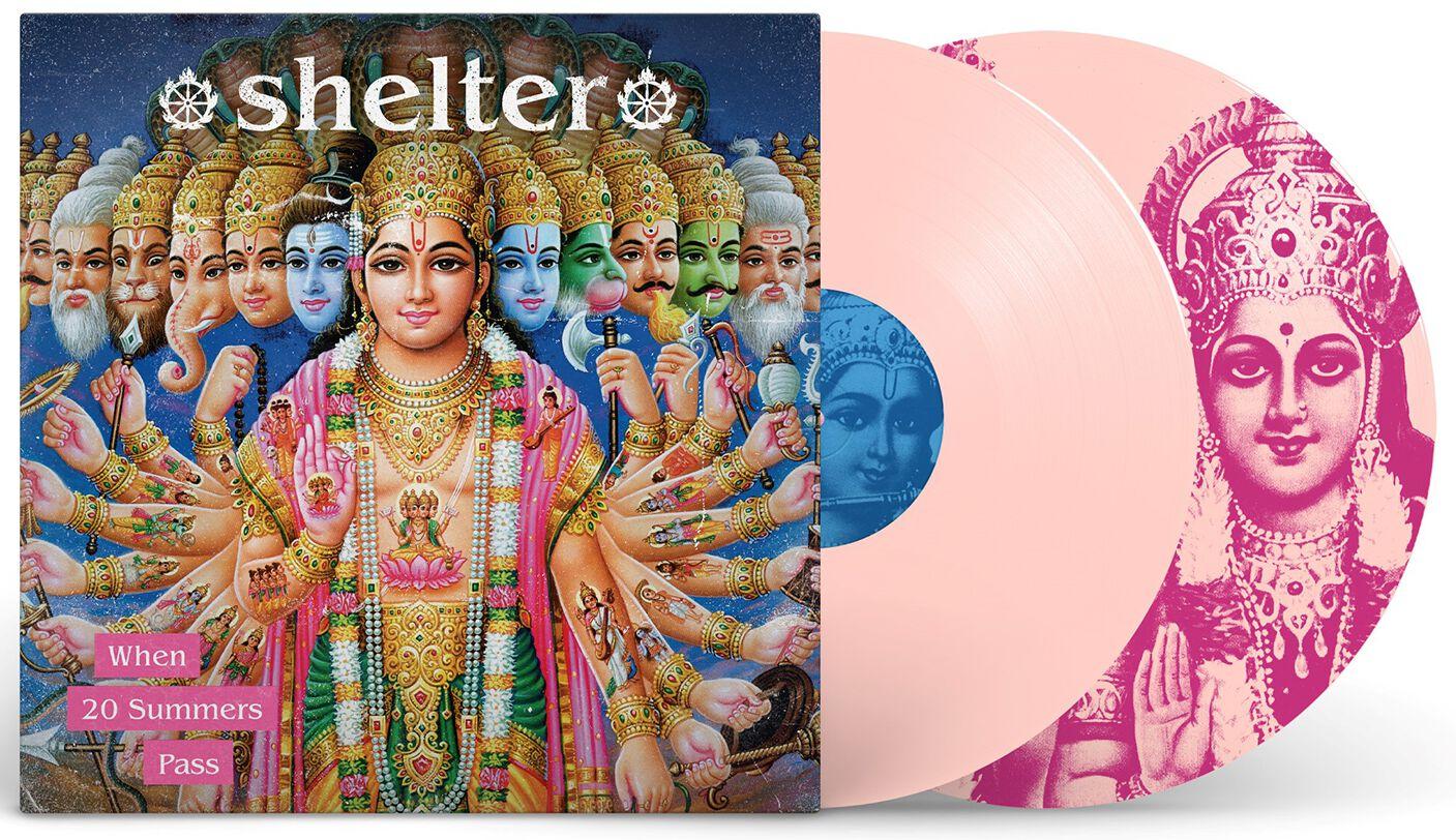Shelter When 20 summers pass  LP  pink