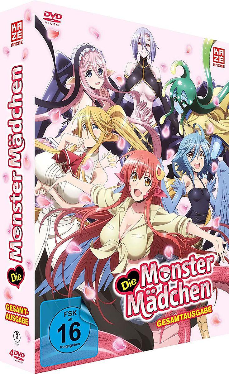 Image of Die Monster Mädchen Gesamtausgabe 4-DVD Standard