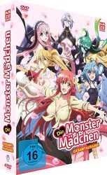 Die Monster Mädchen Gesamtausgabe