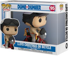 Lloyd Christmas On Bycicle (Pop! Rides) Vinyl Figur 95