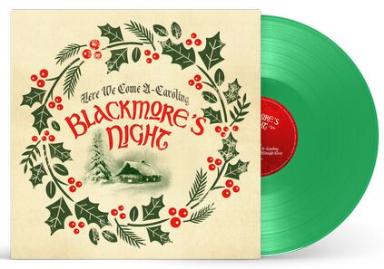 Image of Blackmore's Night Here we come a-caroling 10 inch-MAXI grün