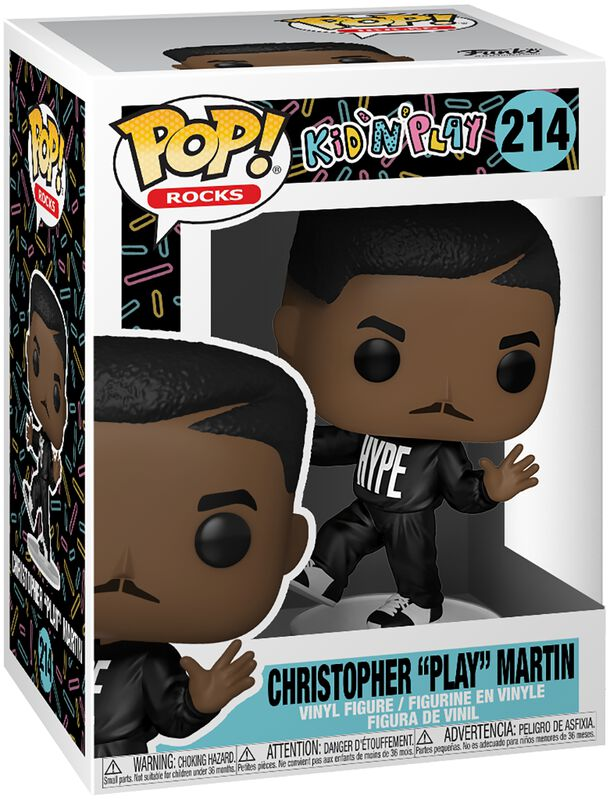 Christopher Play Martin Rocks Vinyl Figur 214