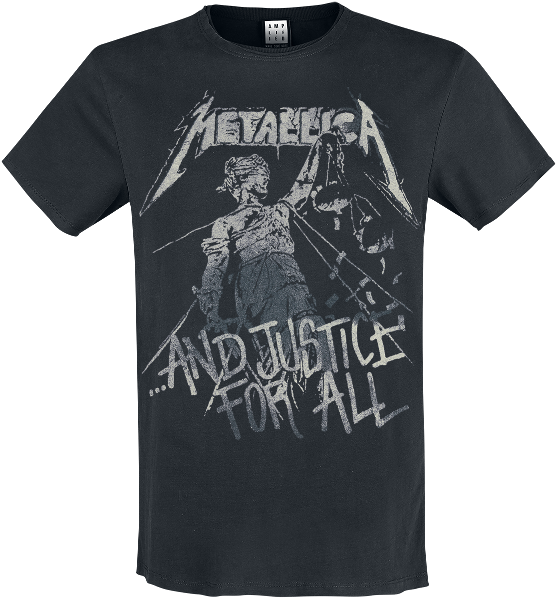 Metallica - Amplified Collection - And Justice For All - T-Shirt - black image