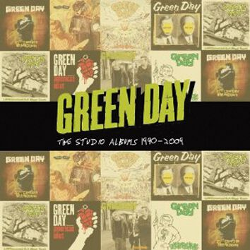 Image of Green Day Studio albums 1990-2009 8-CD Standard