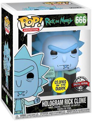 Hologram Rick Clone Vinyl Figur 666