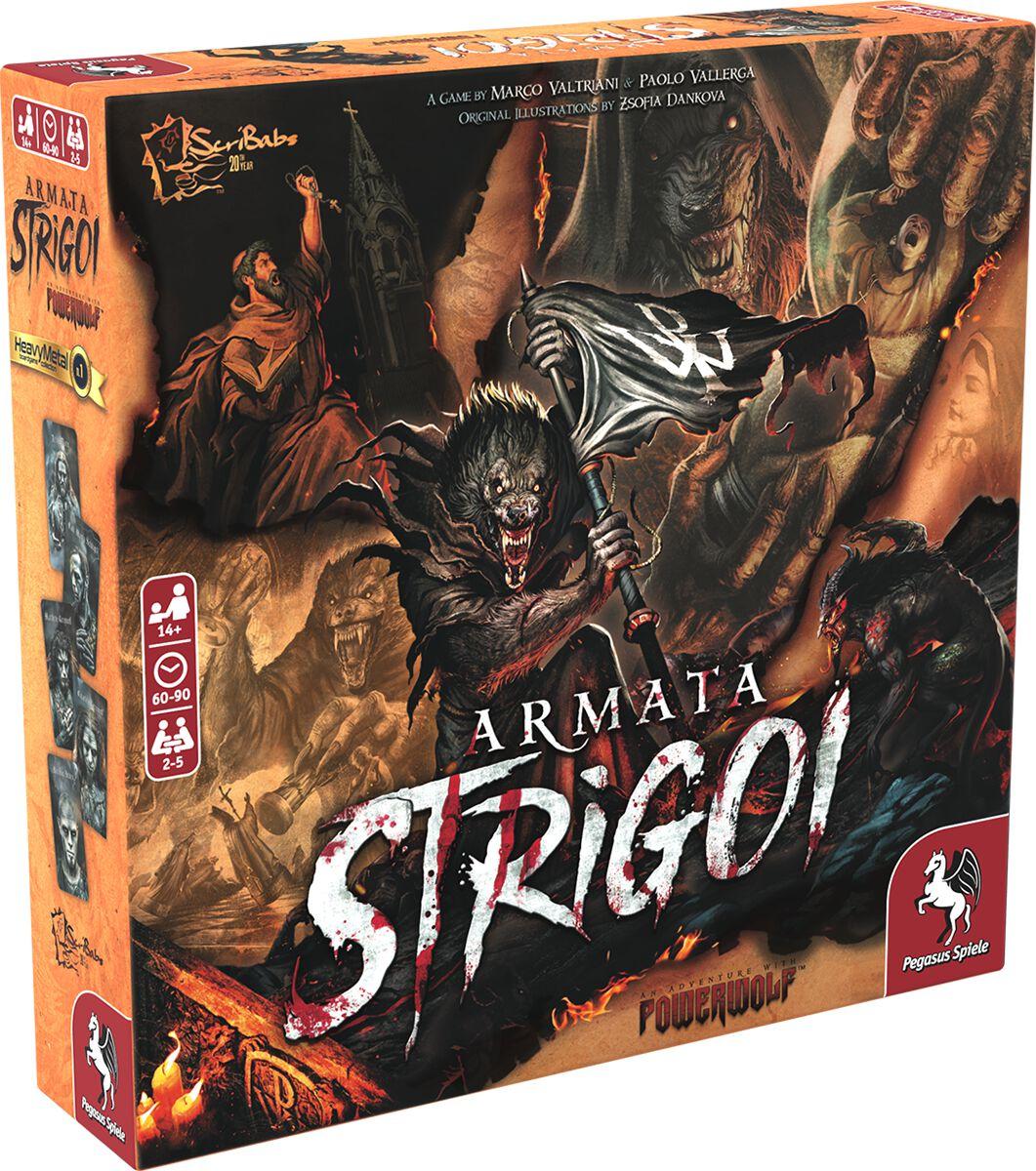 Powerwolf Armata Strigoi Brettspiel multicolor 57700G