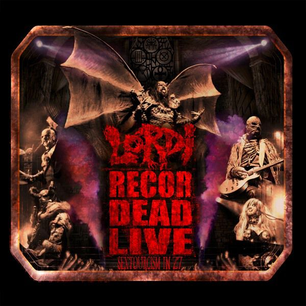 Lordi - Recordead Live - Sextourcism In Z7 (2019, DVD