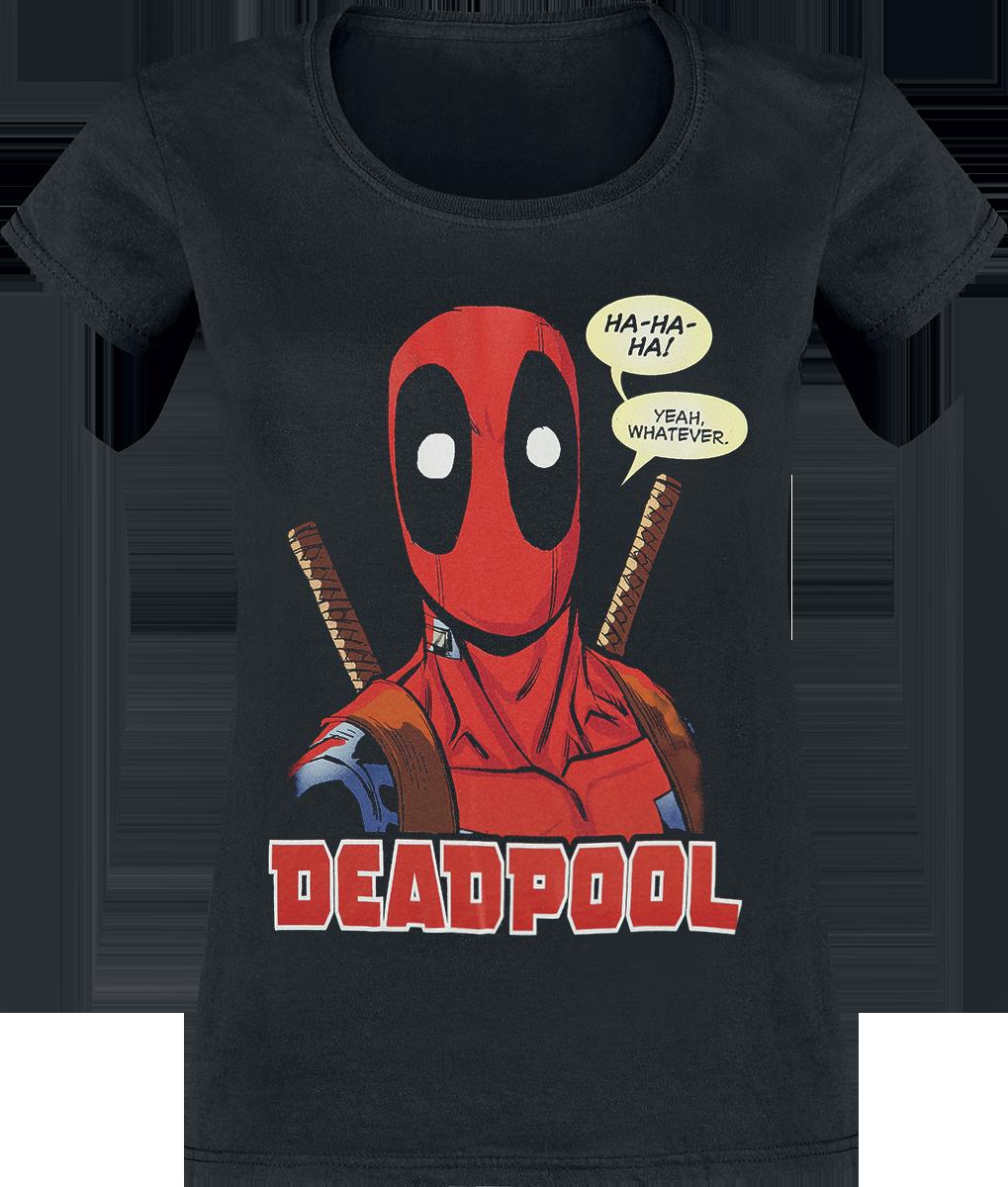 Deadpool - Whatever - Girls shirt - black image