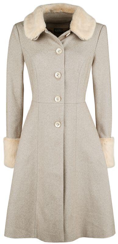 Louisa May Sand Long Dress Coat