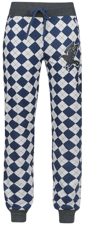 Harry Potter Ravenclaw Pyjama-Hose grau blau M337144