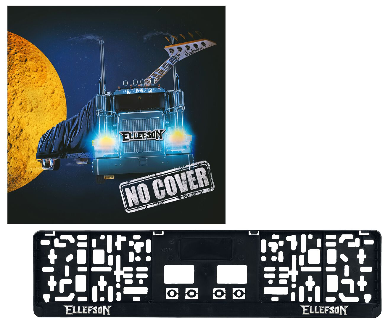 Image of Ellefson No cover 2-CD & Kennzeichenverstärker Standard