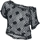 Ladies Short Mesh Top