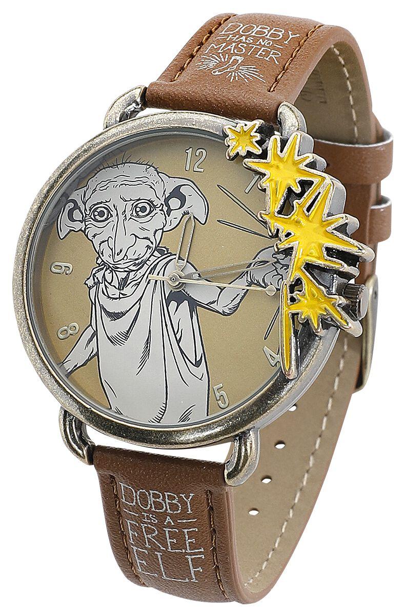 Uhren für Frauen - Harry Potter Dobby Armbanduhr braun  - Onlineshop EMP