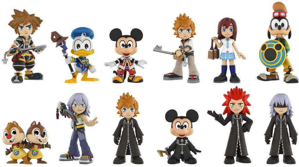 Kingdom Hearts - Mystery Mini Blind Box   Kingdom Hearts ...