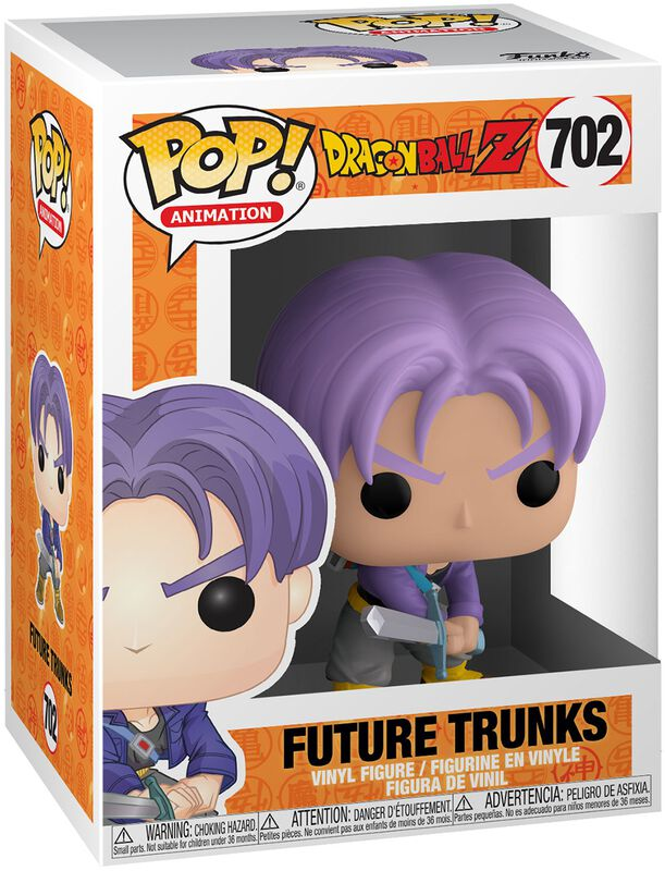 Z - Future Trunks Vinyl Figur 702