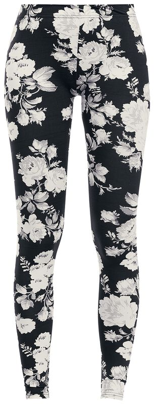 Ladies Flower Leggings
