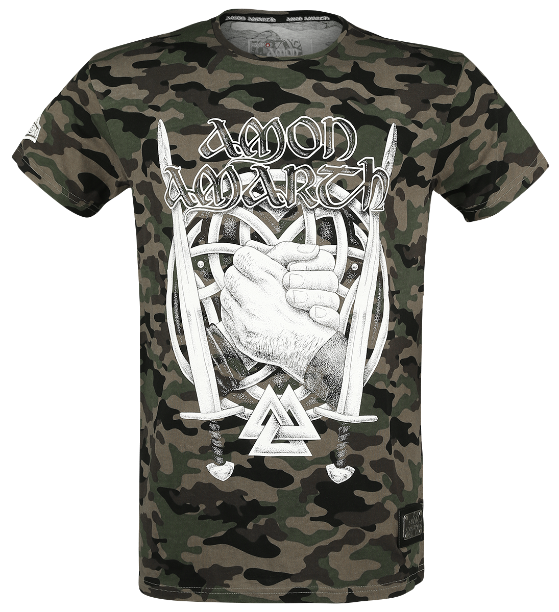 Amon Amarth - EMP Signature Collection - T-Shirt - camouflage image