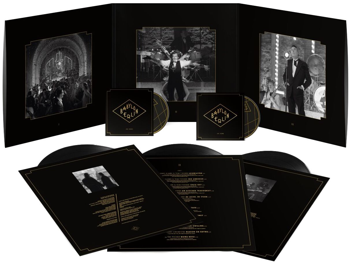 Image of Babylon Berlin Original Motion Picture Soundtrack 3-LP & 2-CD Standard