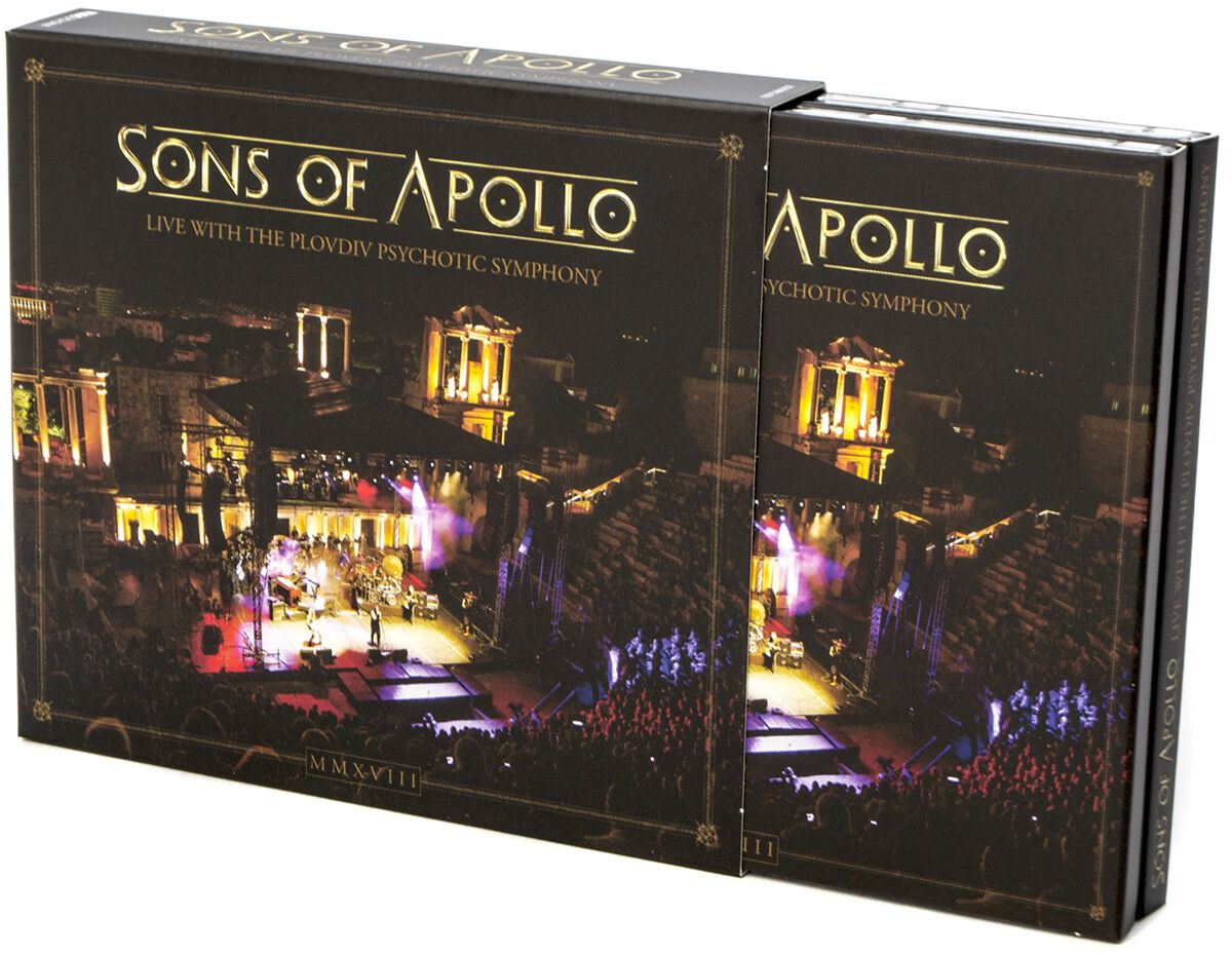 Image of Sons Of Apollo Live with the Plovdiv Psychotic Symphony 3-CD & DVD Standard