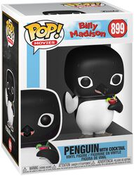 Billy Madison Penguin with Cocktail Vinyl Figur 899