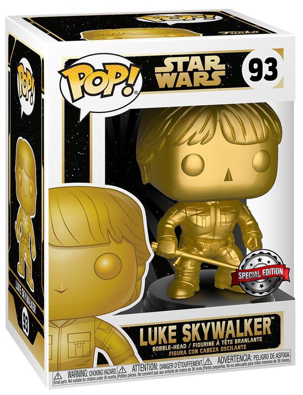 Luke Skywalker (Gold Metallic) Vinyl Figur 93