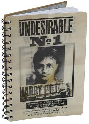 Sirius & Harry 3D Notizbuch