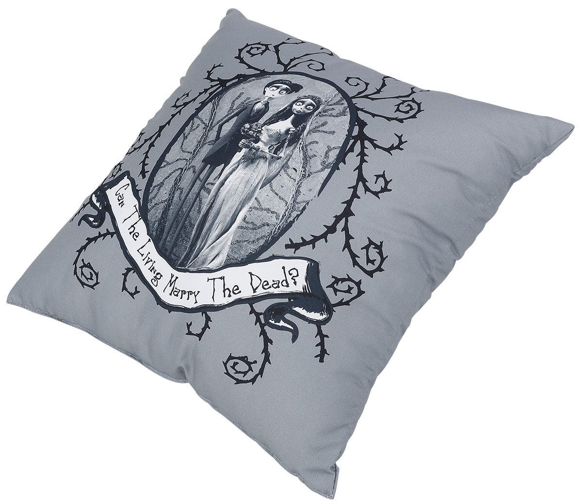 Corpse Bride -  - Kissen - schwarz
