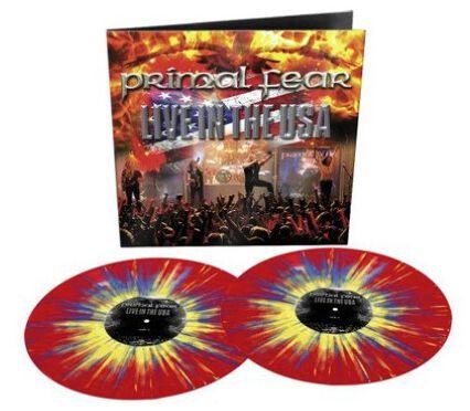 Primal Fear Live in the USA  LP  splattered